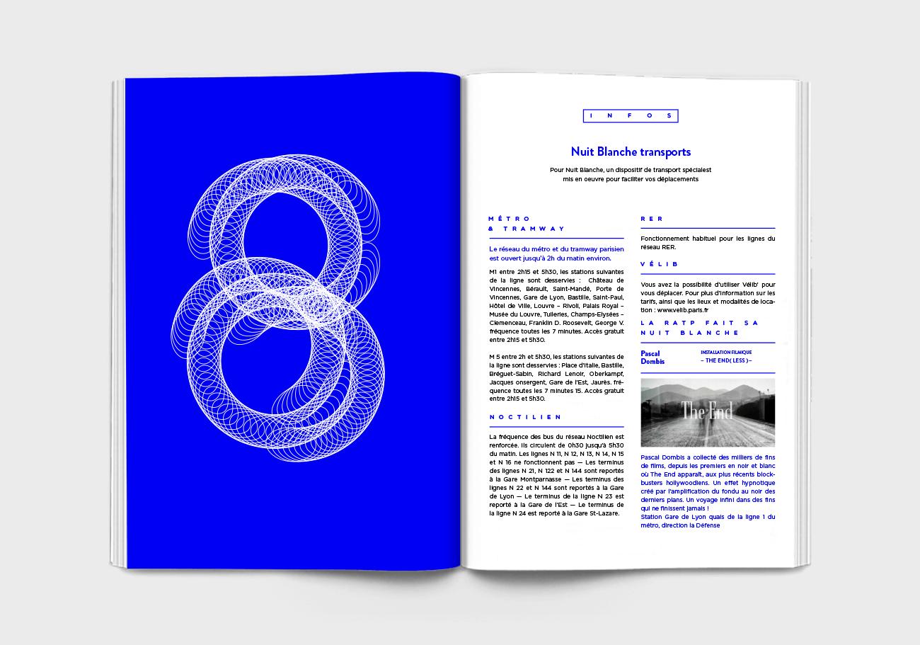 Nuit blanche Page intérieur programme