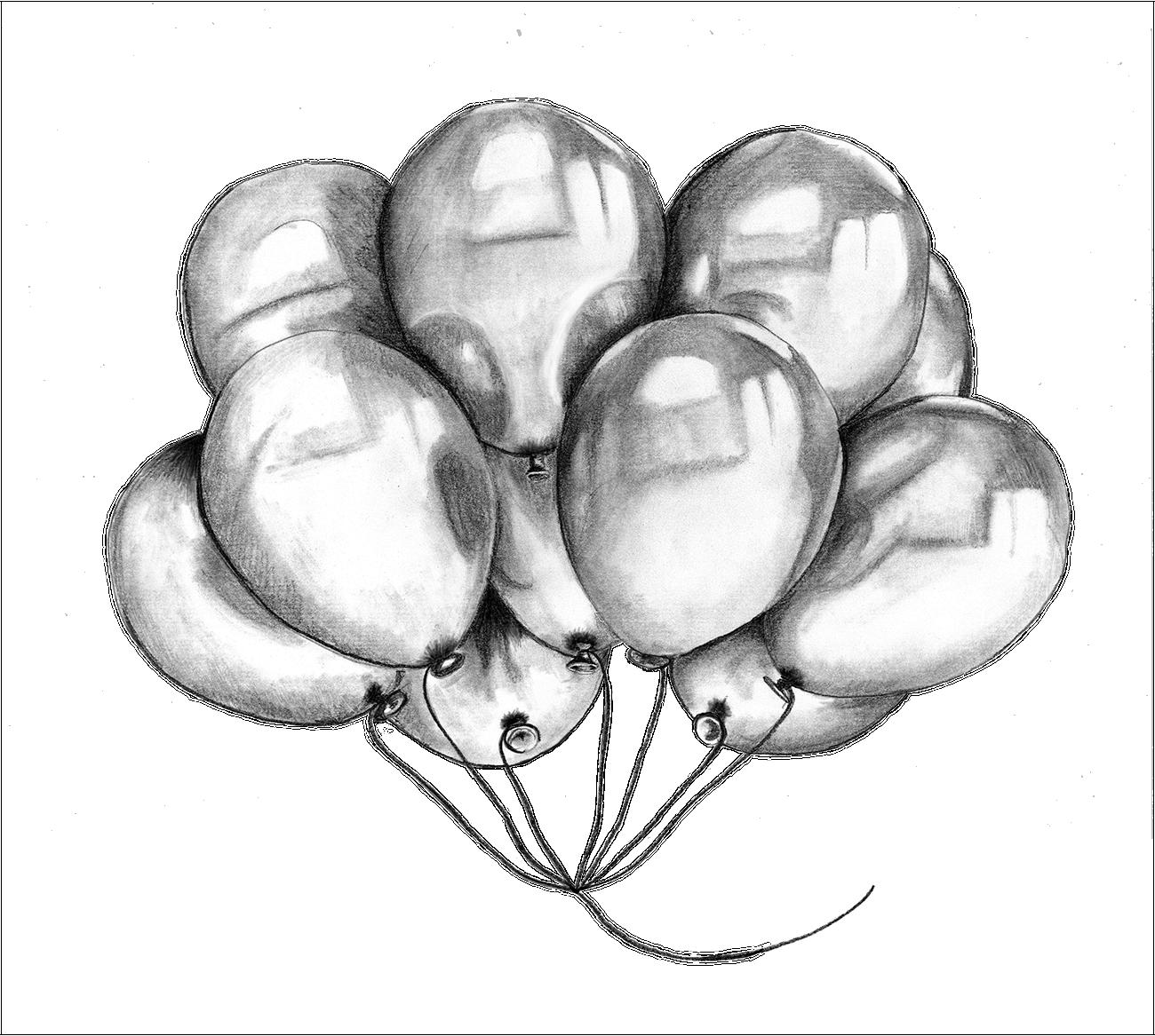 Recto Verso illustration Ballon