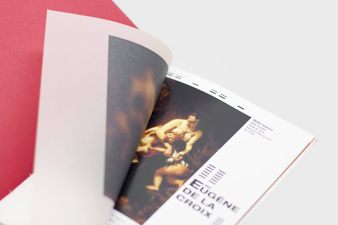 Livret guide musée des beaux arts de lille floutage