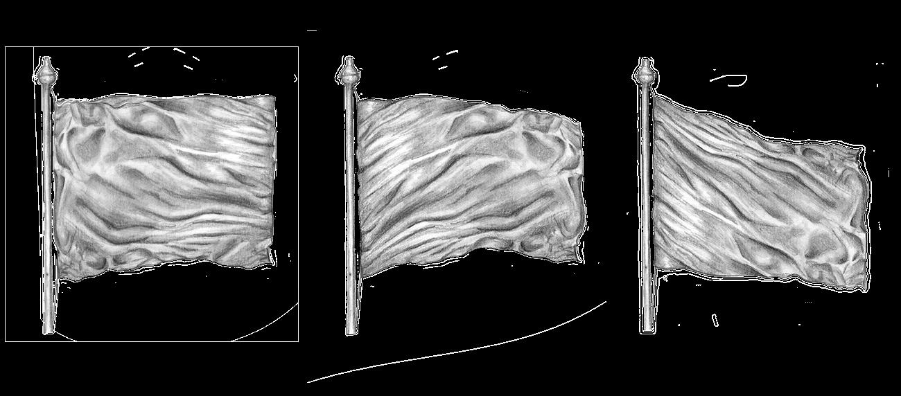 Recto Verso illustration drapeau