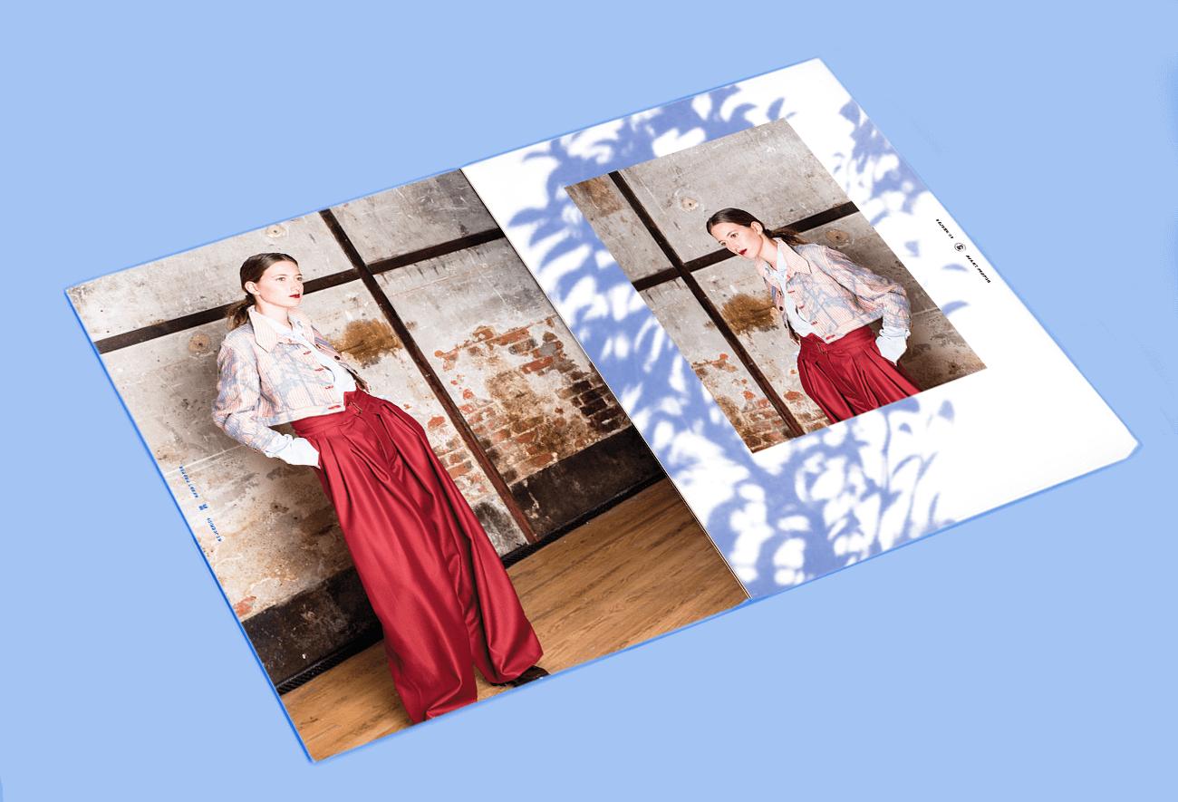 Lookbook Mode Nejkerich Model