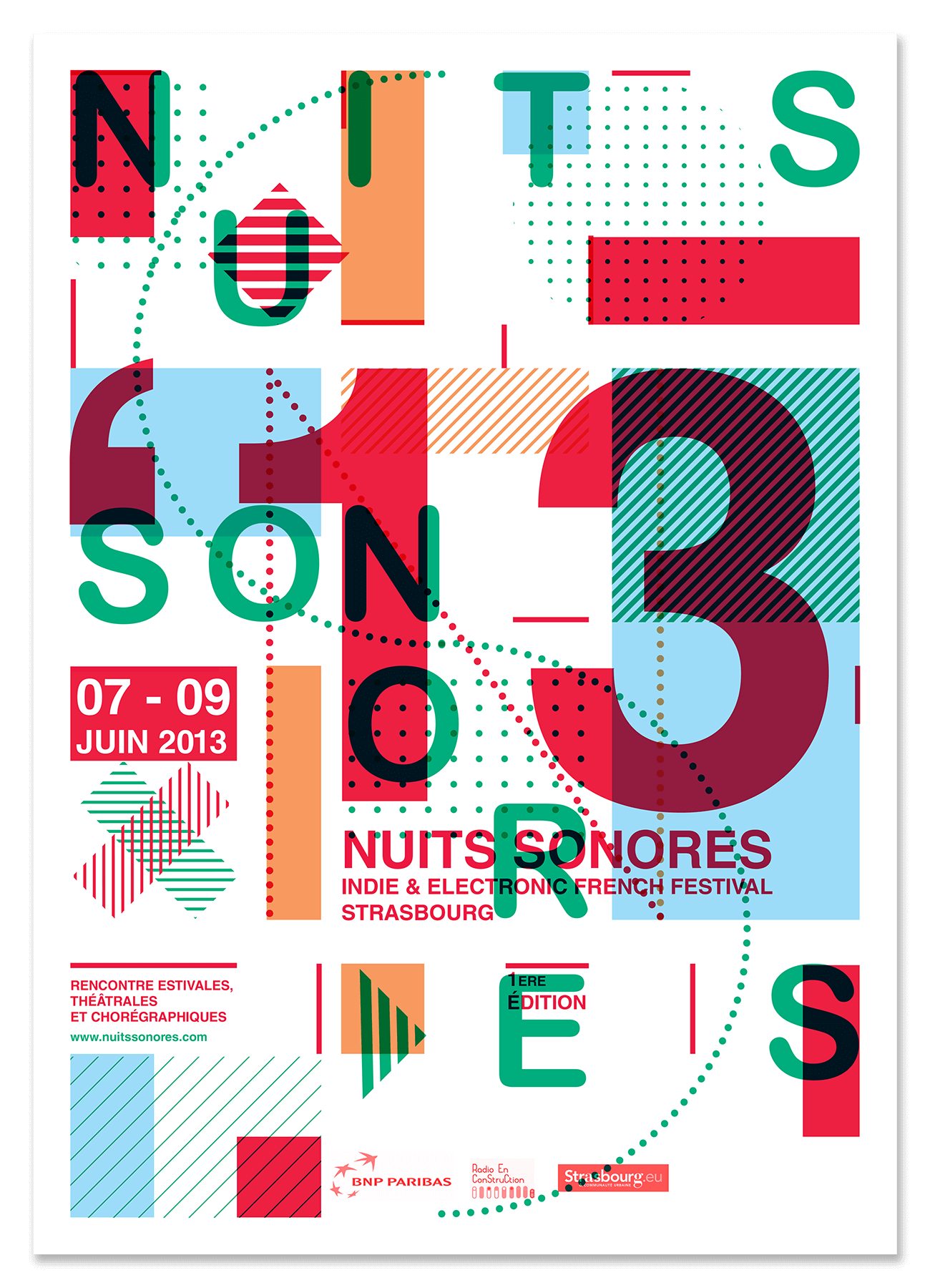 Nuits Sonores affiche